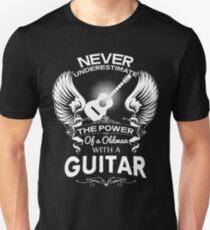 Oldman With a Guitar T-Shirt