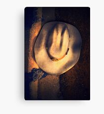 """Alvin (Inspired by David Lynch's """"The Straight Story"""") Canvas Print"""