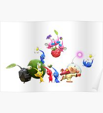 Hey! Pikmin Artwork Poster