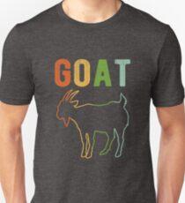 Vintage Style Goat Classic Retro Distressed Color Unisex T-Shirt