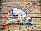Lucky Star Elephants by Karin Taylor