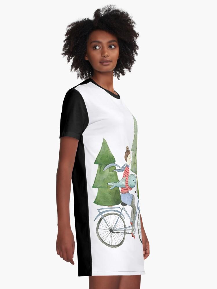 Alternative Ansicht von Narwale sind cool T-Shirt Kleid