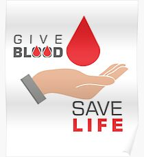 Blood donation posters redbubble blood donation posters thecheapjerseys Gallery
