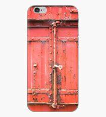 0021 Steel door iPhone Case
