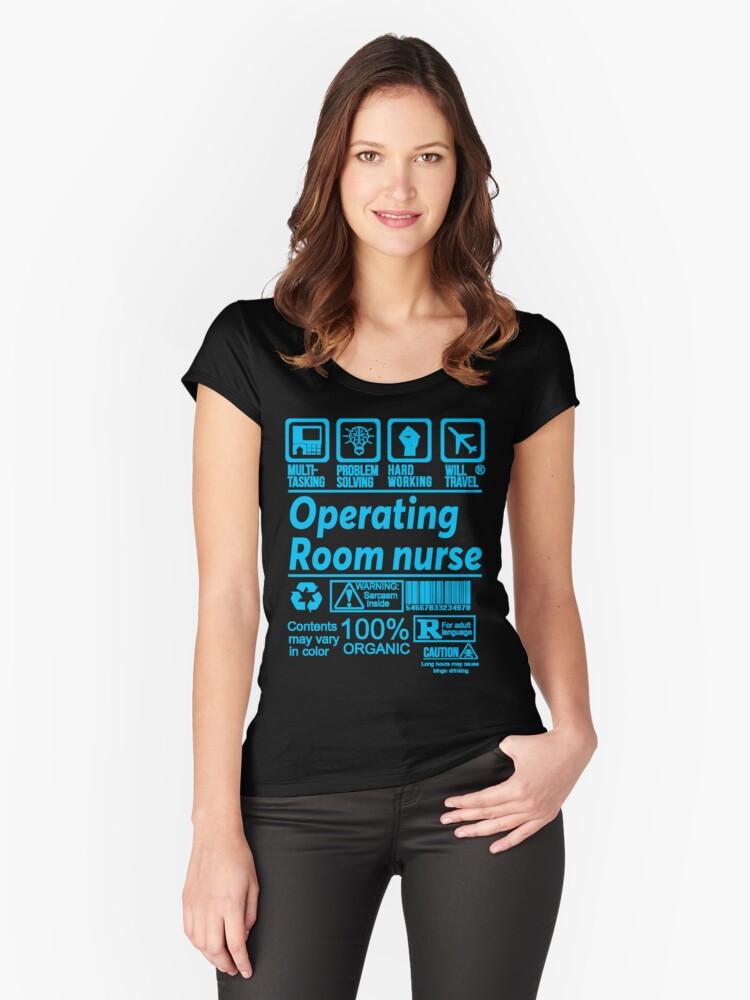 "Operating Room Design: ""OPERATING ROOM NURSE SOLVE PROBLEMS DESIGN"" T-shirt By"
