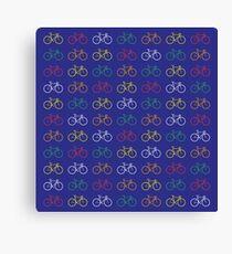 Bike Pattern  Canvas Print