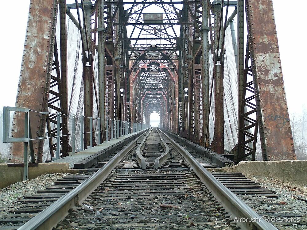 train tressle by Airbrushr  Rick Shores