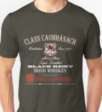 Kavanagh Clan Vintage Irish Whiskey Slim Fit T-Shirt