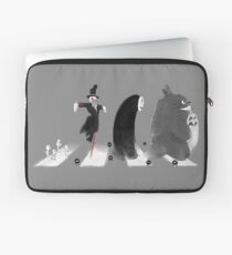 Ghibli Road Laptop Sleeve