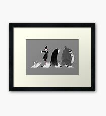 Ghibli Road Framed Print