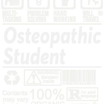 OSTEOPATHIC STUDENT SOLVE PROBLEMS DESIGN by kashikens