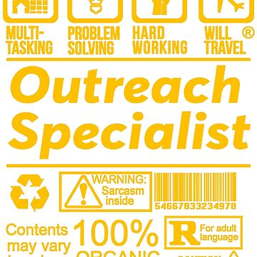 OUTREACH SPECIALIST SOLVE PROBLEMS DESIGN by kashikens