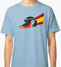 Alonso retro Indy helmet Classic T-Shirt