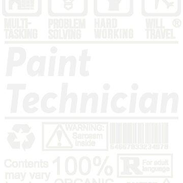 PAINT TECHNICIAN SOLVE PROBLEMS DESIGN by kashikens