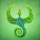 Green Phoenix by siedui