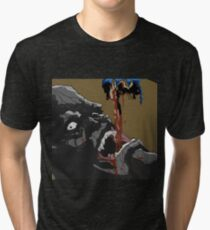 Ninja Scroll Tessai Tri-blend T-Shirt