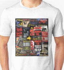 Midnight oil wall 3 (best on black product) Unisex T-Shirt
