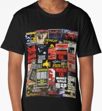Midnight oil wall 3 (best on black product) Long T-Shirt