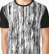 Ikat in Ink Black Graphic T-Shirt