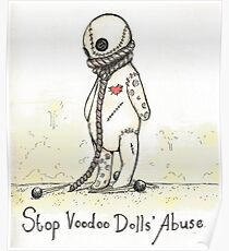 Voodoo Doll Drawing Posters | Redbubble
