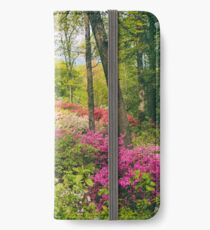 The Azalea Garden iPhone Wallet