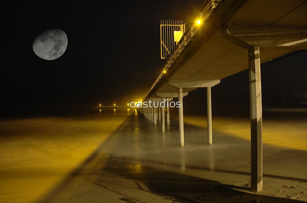 moon over boardwalk by oastudios