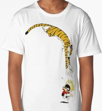 calvin hobbes Long T-Shirt