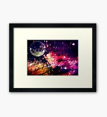Letter from outer space Framed Print