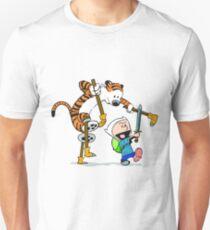 calvin and hobbes play Unisex T-Shirt