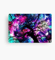 Starfield Tree Canvas Print