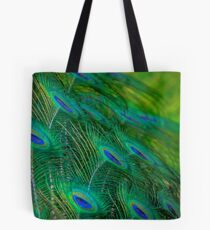 Peacock Mystery Tote Bag