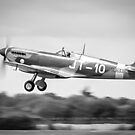 Spitfire SL633 taking off by carlyhodges