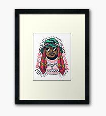 schoolboy Q lifestyle Framed Print