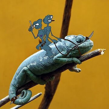 The Great Chameleon Rider by zigmenthotep