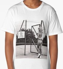 funny tennis court rules Long T-Shirt
