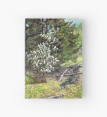 spring in the wood Hardcover Journal