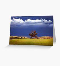 0092 Wodonga Hills Greeting Card