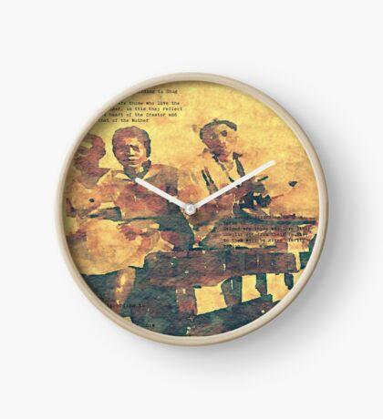 Shug Avery's Gospel Pt. 1 Clock