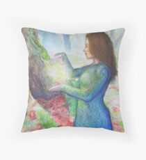 Self-Generated Illumination  Throw Pillow