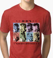 JoJo's Bizarre Adventure Tri-blend T-Shirt