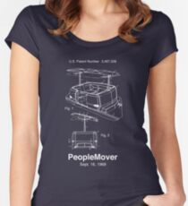 PeopleMover Patent Women's Fitted Scoop T-Shirt