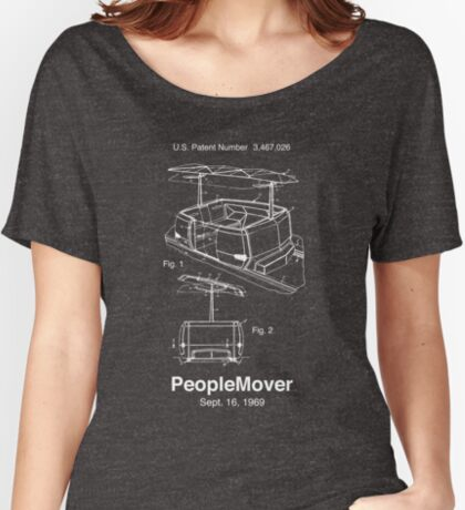 PeopleMover Patent People Mover Relaxed Fit T-Shirt