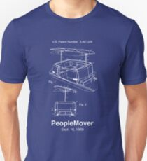 PeopleMover Patent People Mover Slim Fit T-Shirt