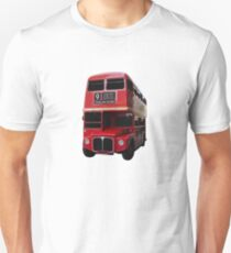 Iconic Red Routemaster Bus Unisex T-Shirt
