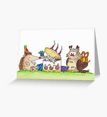 BIRTHDAY SURPRISE greeting card by Nicole Janes Greeting Card