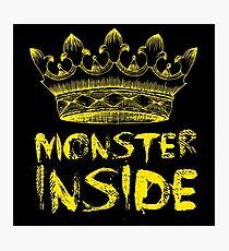 Monster Inside Photographic Print