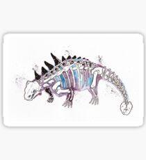 Space Ankylosaurus Sticker