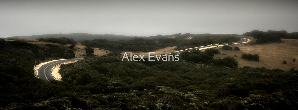 Bells Beach Road by Alex Evans