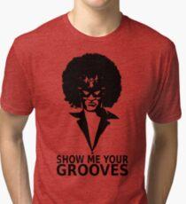 Captain falcon disco Tri-blend T-Shirt