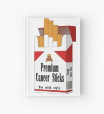 Premium Cancer Sticks Hardcover Journal